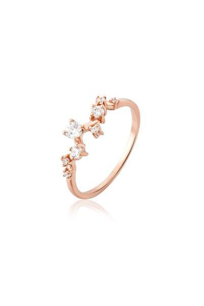 Aganta Design Jewels 8 Taş Yıldız Takımı Pırlanta Yüzük
