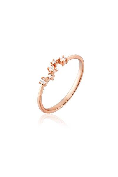 Aganta Design Jewels 5 Taş Yıldız Takımı Pırlanta Yüzük