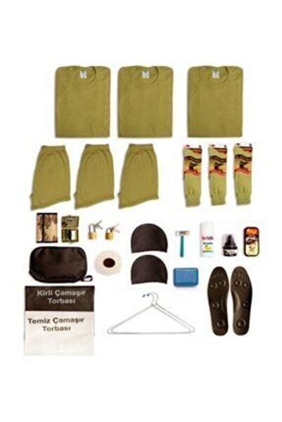 mehmet tv komando Asker Çantası 3'lü Acemi Temel Asker Malzemeleri