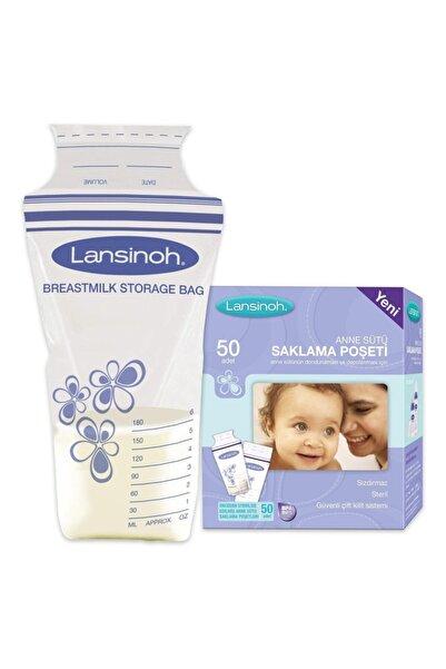LANSINOH Süt Saklama Poşeti 50 Adet