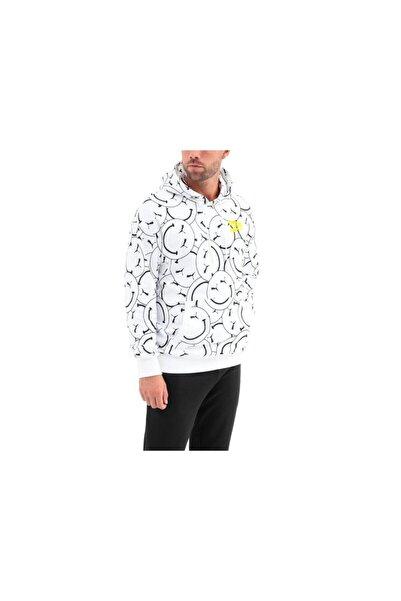Puma Erkek Club Aop Hoodie Smile White Sweatshirt