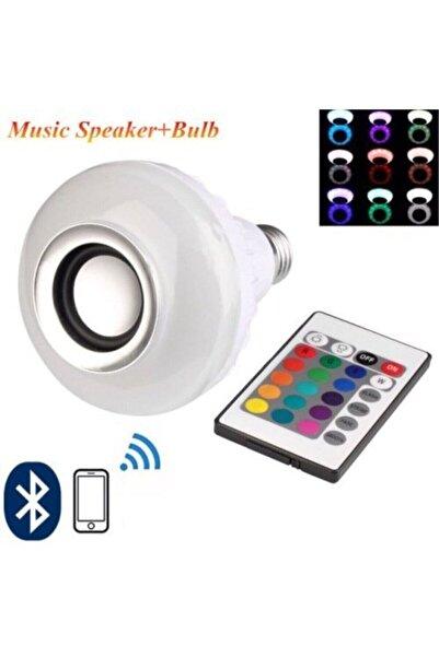 Leddolu Music Bulb Bluetooth Hoparlör Akıllı Led Ampul Lamba