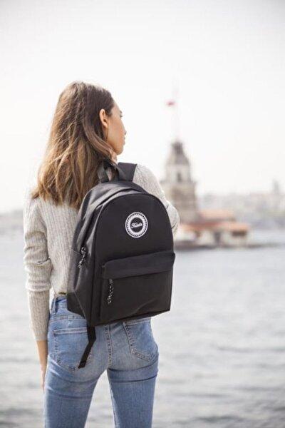 Fudela Zye Black Backpack Sırt Çantası