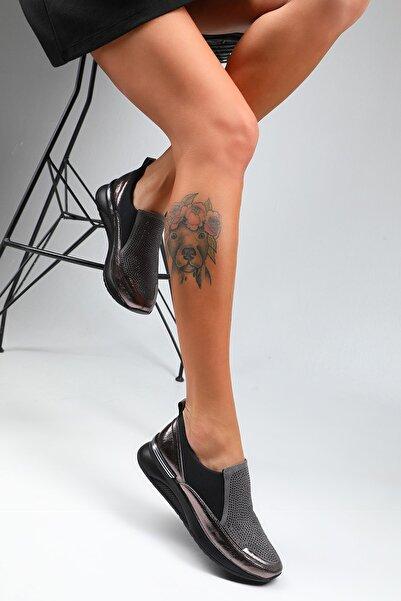 julude Kadın  Taşlı Ayakkabı