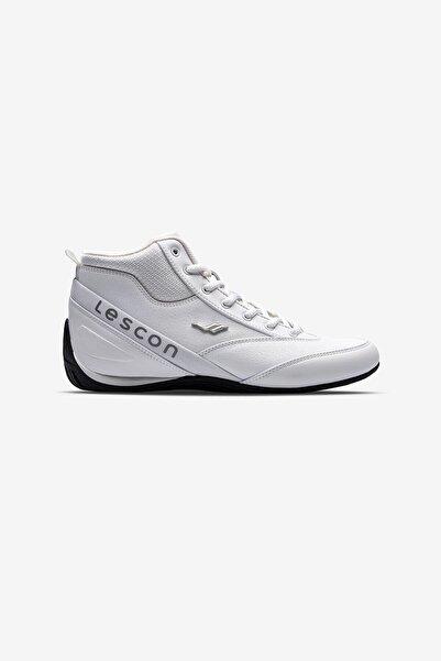 Lescon Kadın Beyaz Sneaker Bot