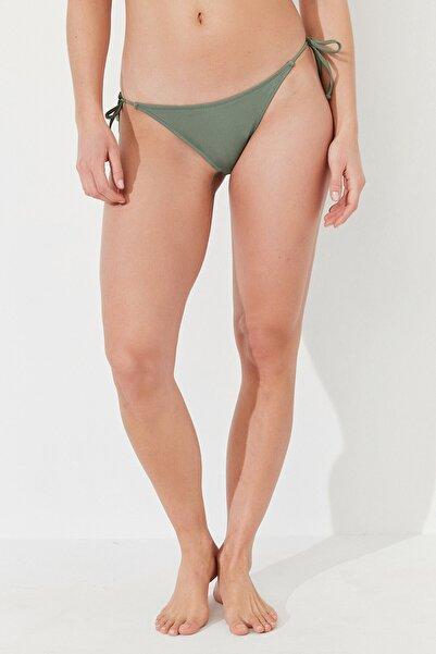 Penti Kadın Yeşil Army Basic Bikini Altı
