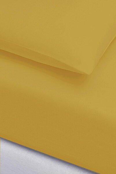 İyi Geceler İstanbul Sarı Igi Ranforce Tek Kişilik Fitted Çarşaf Set - 100x200