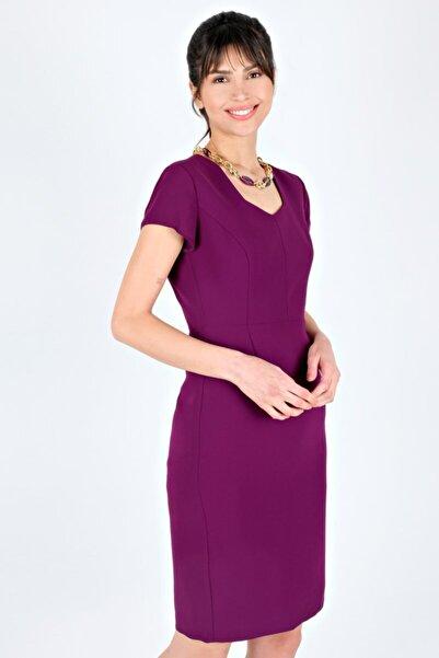 Spazio Kadın Brenna Krep Elbise
