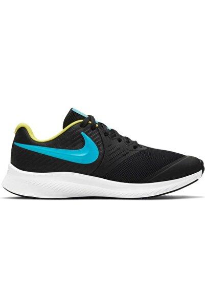Nike Çocuk Siyah Star Runner 2 Gs Günlük Ayakkabı Aq3542-012
