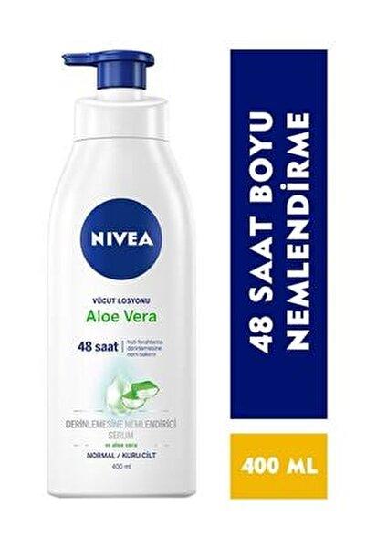 Nıvea Nbody Pump Aloe Vera Losyon 400 ml