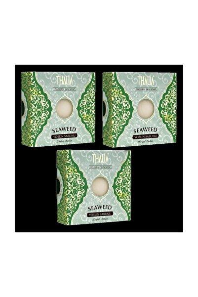 Thalia 3 Adet Doğal Yosun Özlü Sabun 125 Gram