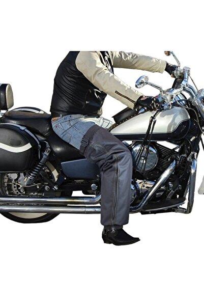 Ankaflex Motosiklet Sürücü Sıvı Rüzgar Geçirmez Isı Yalıtımlı Koruyucu Pantolon Motorcu Yağmurluk Dizlik