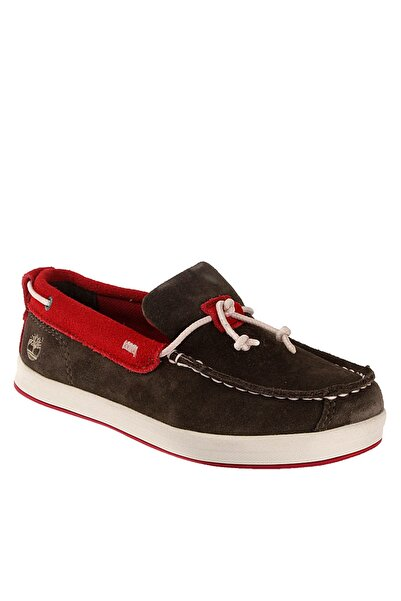 Timberland Hakiki Deri Kahverengi Çocuk Ayakkabı 1Tık2015064