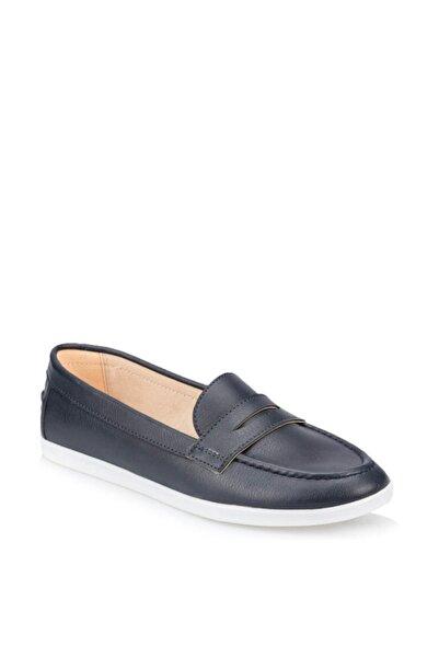 Polaris 91.313037.z Lacivert Kadın Loafer Ayakkabı 100376264