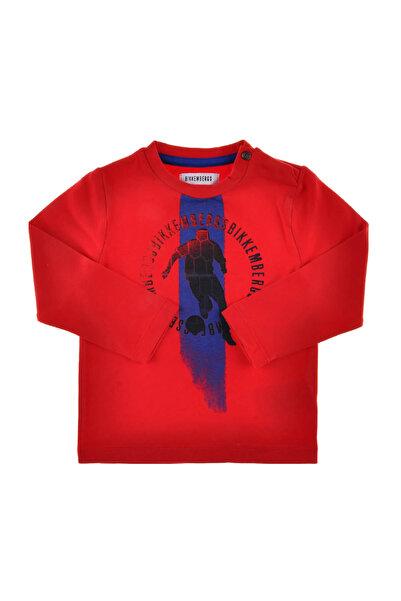 Bikkembergs Kırmızı Erkek Çocuk T-Shirt 3232DNMTE54