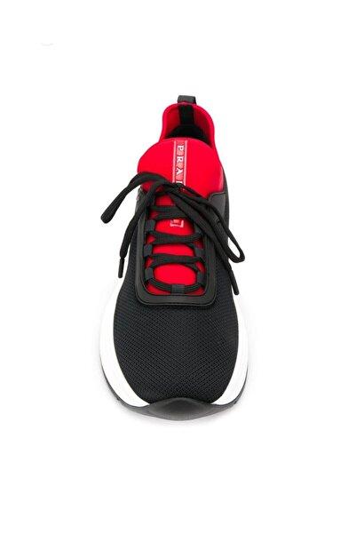 Prada Sport Erkek Siyah Spor Ayakkabı