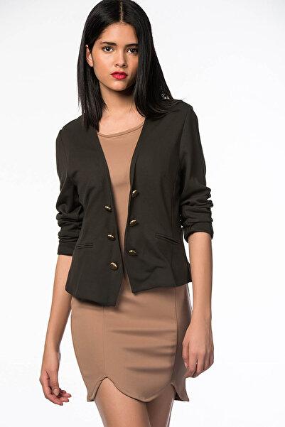 SELECT Kadın Haki Ceket