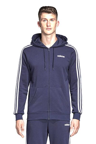 adidas E 3S FZ FT Siyah Erkek Sweatshirt 100411861