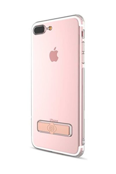 Totu Design TotuDesign Gizli Stand iPhone 7 Plus Rose Gold Kılıf