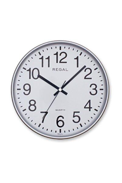 ULTIMA Regal 0252 Sw Yuvarlak 26 Cm Gümüş Çerç. Duvar Saati