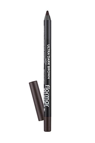 Flormar Koyu Kahverengi Eyeliner - Ultra Eyeliner 019 Dark Brown 8690604547234