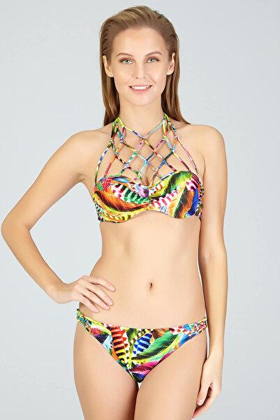 Kom Kadın Pembe Low Bikini Takımı 01MB75941PEMB