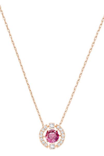 Swarovski Kadın Kolye Sparkling Dc:Necklace Czre/Cry/Ros 5279421