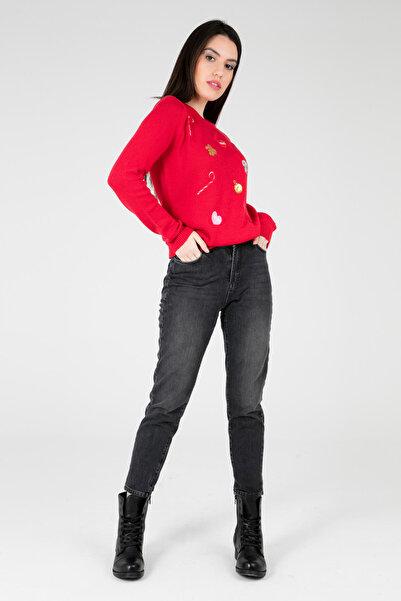 Five Pocket Kadın Siyah Jeans 8521K406Nıcole