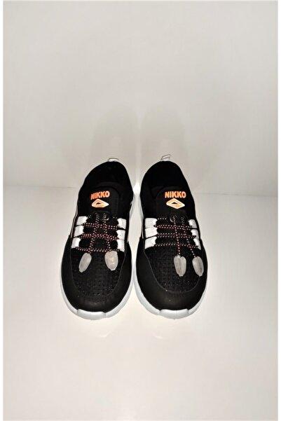 Nikko Çocuk Siyah Sneaker Ayakkabı