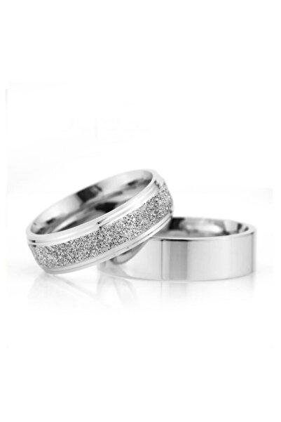 Gümüşcüm Erkek Bombeli Çizgili Gümüş Alyans Nişan Ve Söz Yüzüğü 6mm