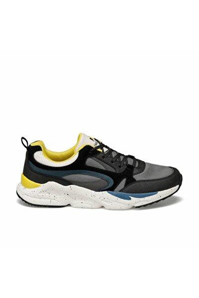 lumberjack Erkek Spor Ayakkabı Ezra Siyah-sarı 10s04ezra