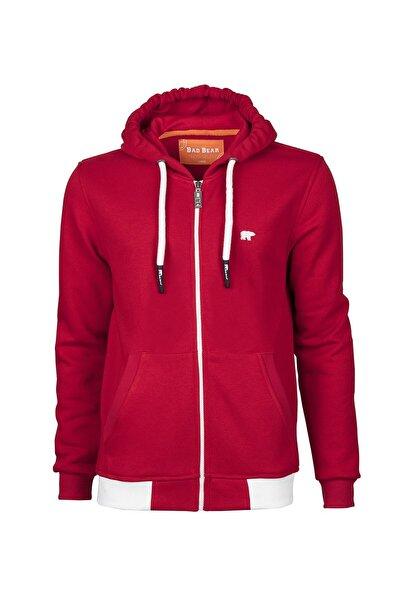 Bad Bear Erkek Kırmızı Humble Full Zıp Sweatshirt
