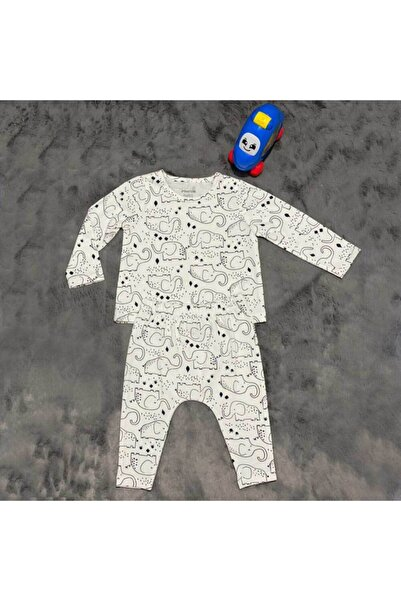 PİEROSBABY Pieros Baby 0011 Erkek Bebek 2'li Takım