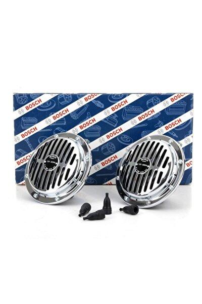 Bosch Yüksek Ses Süperton Büyük Kafa Nikelaj Korna 12v 325/400 Hz 110 Db