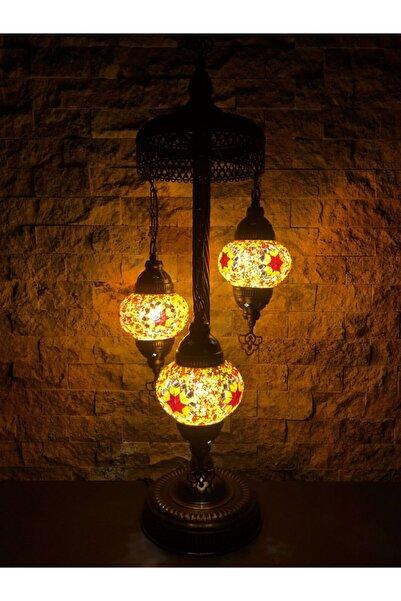 BabySilver Mozaik 3'lü Lambader Dekor Gece Lambası No1