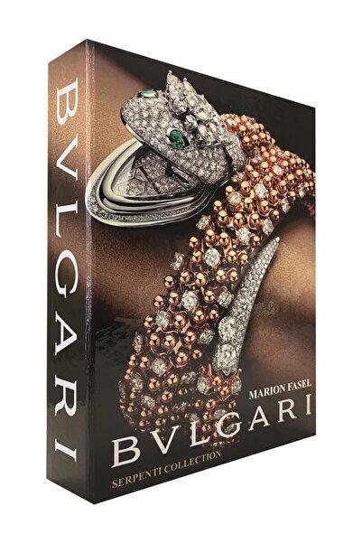 RetroLazer Bulgari Dekoratif Kitap Kutu