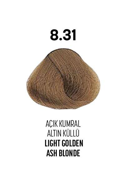 Bioplex 8.31 / Açık Kumral Altın Küllü - Light Golden Ash Blonde - Glamlook Saç Boyası
