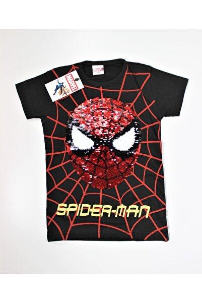 MARVEL Erkek Çocuk Spider Man Pullu T-shirt