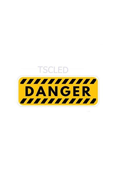 TSC 16cmx6cm Tehlike Uyarı Hatırlatma Çıkartmaları Araba Sticker