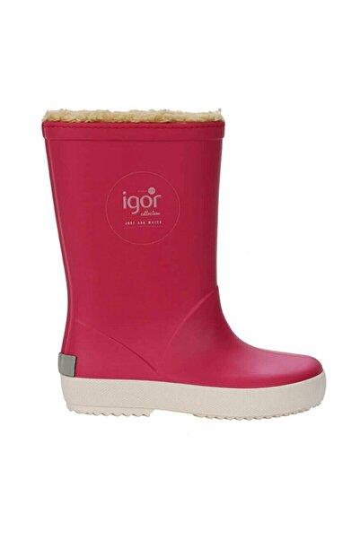 IGOR Kız Çocuk Pembe Yağmur Çizmesi  W10207-007