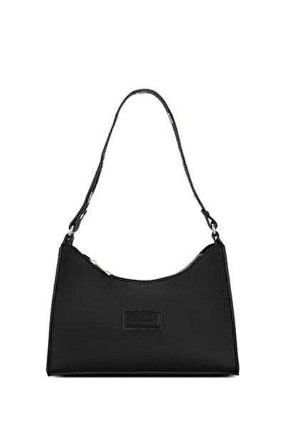 Kadın Siyah Soft Baguette Çanta 195