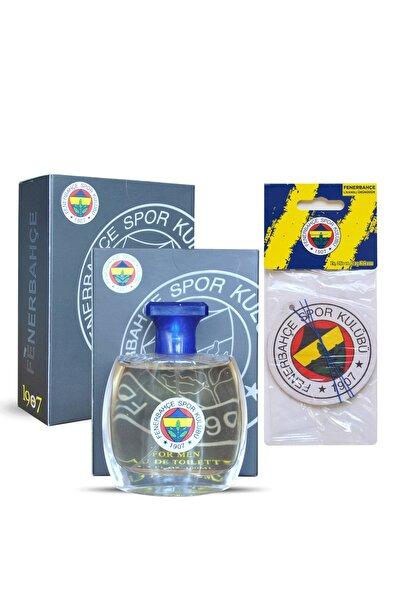 Fenerium Fenerbahçe Lisanslı Erkek Parfümü 100 Ml + Fenerbahçe Oto Kokusu