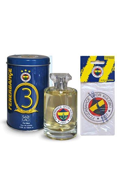 Fenerium Fenerbahçe Vıp Metal Kutulu Lisanslı Edt 100 ml Erkek Parfümü  + Fenerbahçe Oto Kokusu