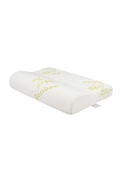 Viscofoam Visco Foam Bamboo Boyun Destekli Ortopedik Yastık Visco Yastık