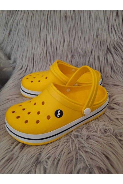 Akınal Bella Kadın Sarı Crocs Terlik