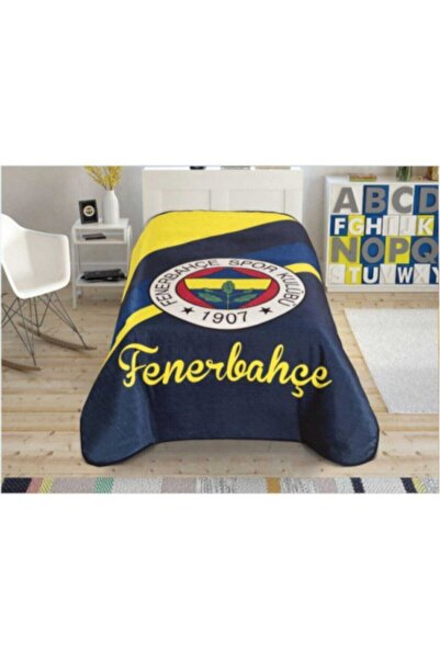 Zorluteks Fenerbahçe Cross Logo Battaniye 160x220
