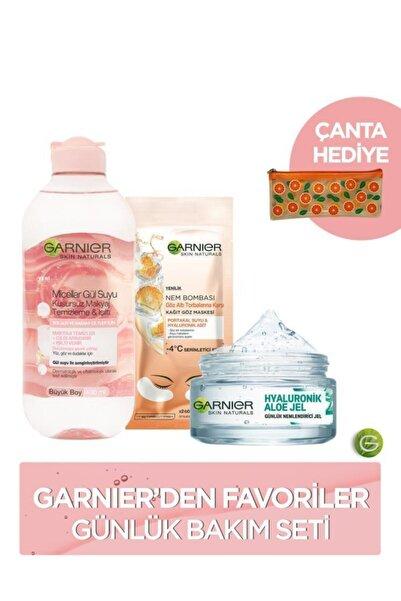 Garnier Favoriler Günlük Bakım Seti + Çanta Hediyeli