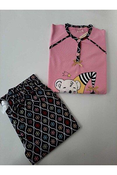 Tarık Kadın Açık Pembe Pijama Takımı