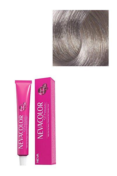 Neva Color Kadın Premium Kalıcı Saç Boyası 9.01 - Gümüş
