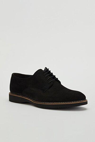 MUGGO Erkek  Klasik Deri Ayakkabı Mgtorino07